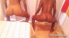 Dominican babes twerking